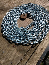 32 ft of 3/8 in proof chain