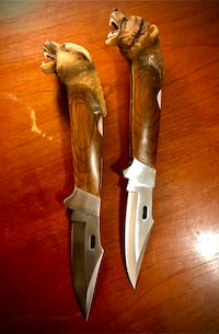 Buck Knifes (Grizzly/Wild Dog)