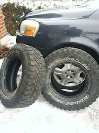 two Goodyear Wrangler tires Orillia, L3V 4J3