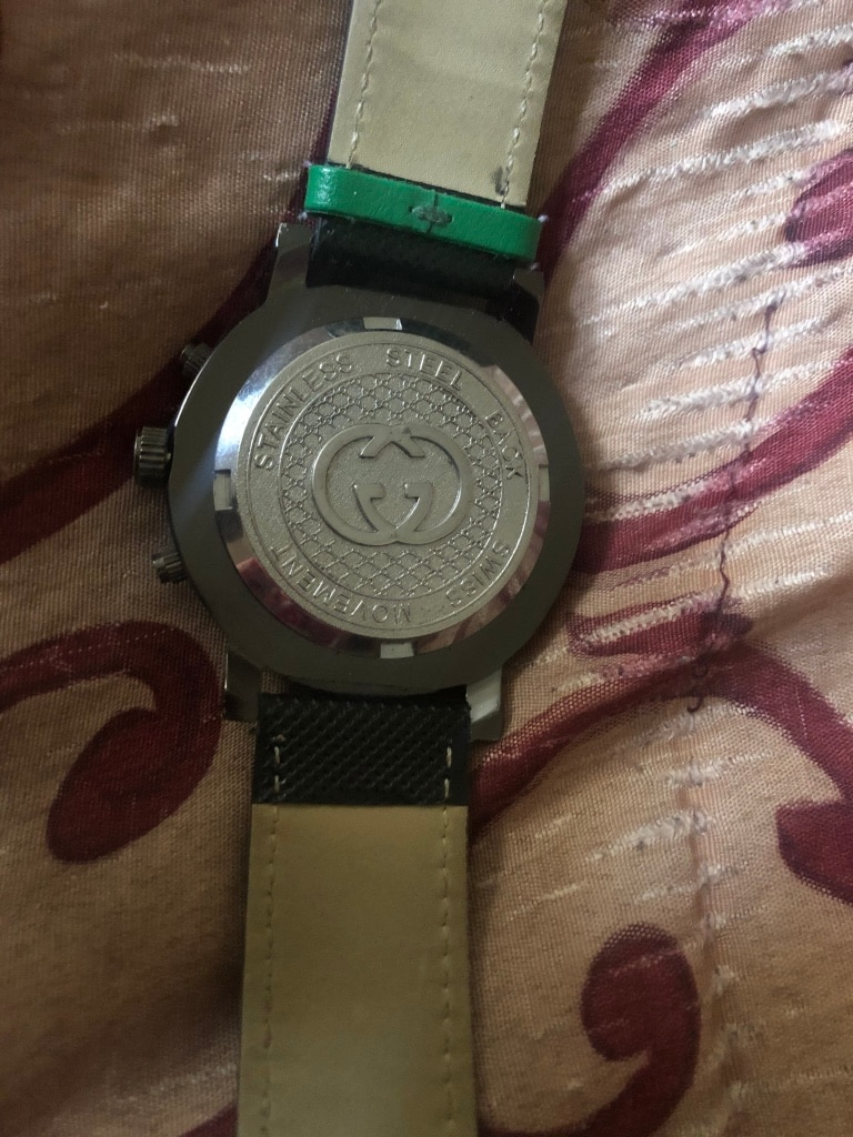 Photo Gucci Watch stainless steel