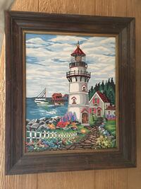 Nautical Lighthouse Painting Lawrence Township, 08648