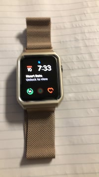 Apple Smart Watch Series1. In excellent condition comes in original box, with charger and original straps   Mississauga, L4W