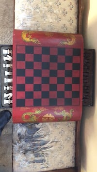red and black chess board Chalmette, 70043