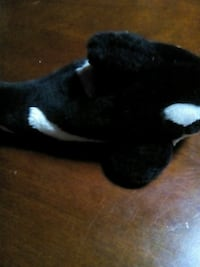 black and white animal plush toy Harpers Ferry, 25425
