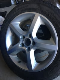 Aluminum rims + winter tires 215/55/R17 London, N6M 1K6