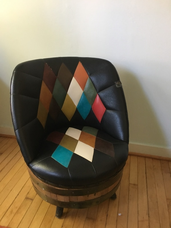 Used Vintage Whiskey Barrel Chairs For Sale In Chicago Letgo