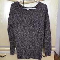 Purple Boyfriend Style Knitted Sweater Size Small  Vaughan