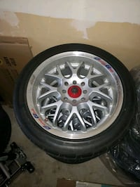 16 inches rims and tires was on my 2000 Honda civi