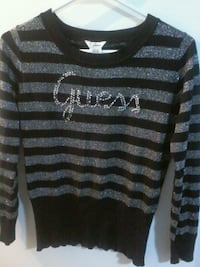 black and gray stripe sweater Calgary, T2B 1A3