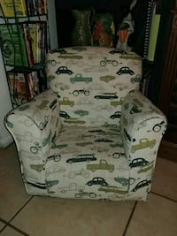 Toddler rocking chair (vintage cars print) Bradenton, 34209