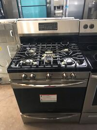 New Frigidaire Gallery stainless steel gas stove with convention oven 6 months warranty  Baltimore, 21215