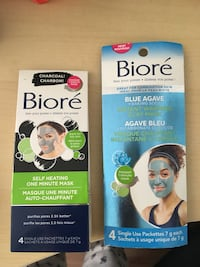 Bioré charcoal and clay mask