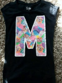 M shirt from Justice