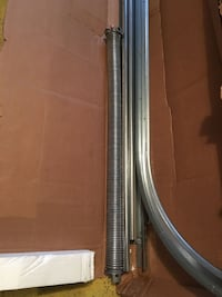 Brand New Garage Door Coil Spring, Track and Kit Herndon