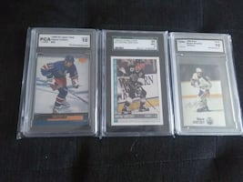 WAYNE GRETZKY GRADED HOCKEY CARDS