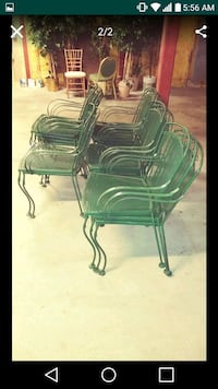 4 NEW METAL OUTDOOR CHAIRS Lawrence, 01841
