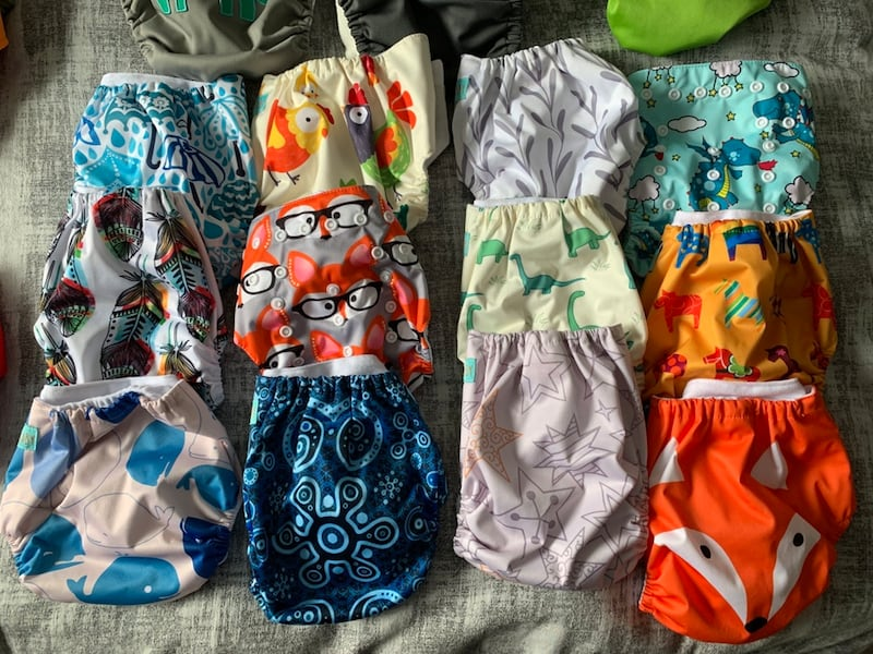 Starter pack of cloth diapers 75313355-f74d-4915-a7ff-88e3bb8d0c60