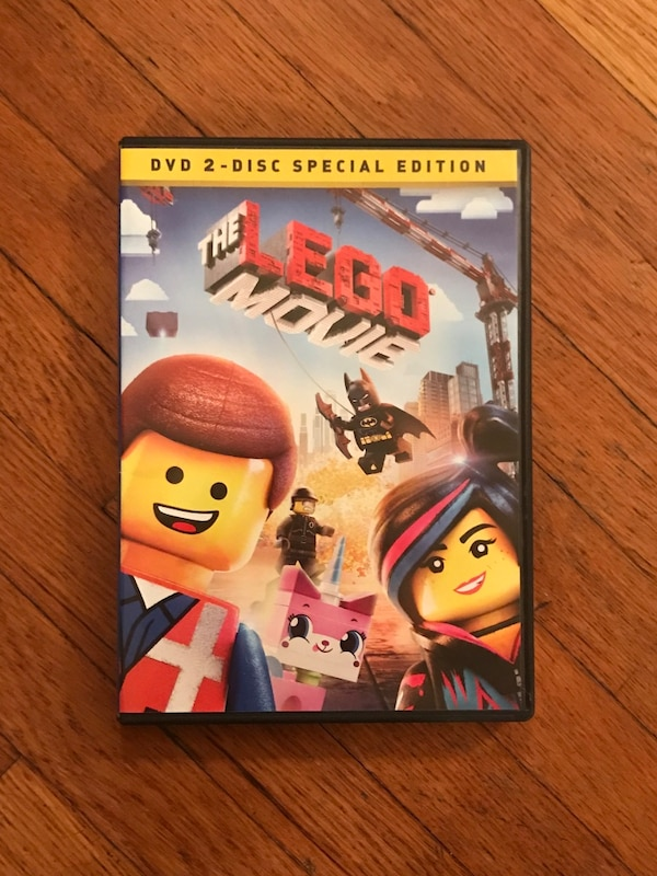 Used The Lego Movie Dvd For Sale In New York Letgo