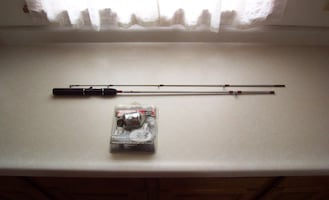 Zebco RT Series Fishing Rod with Zebco 33 Platinum Reel