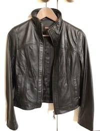 Women's black leather jacket (XS) Alexandria, 22315