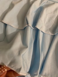 Baby blue ruffle skirt  Los Angeles, 90057