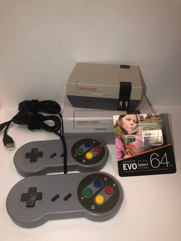 RetroPie 64GB game console (40 systems 21000+ games)