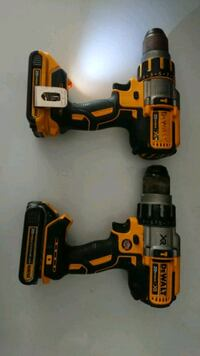 Dewalt 20V hammer drill 3 speeds. 95 each  Charlotte, 28216