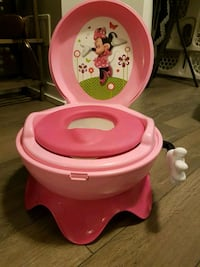 baby's pink Minnie Mouse potty trainer Brampton, L6S 2N1
