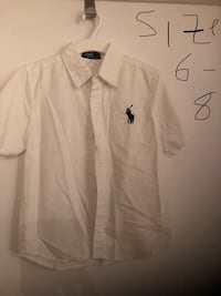 Polo shirt Boys 6-8 years - worn once and washed once Montréal, H3H