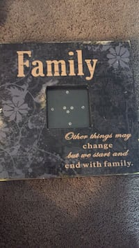 Black and brown wooden quote board Edmonton, T6J 5J6
