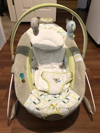 baby's white and green bouncer Egg Harbor Township, 08234