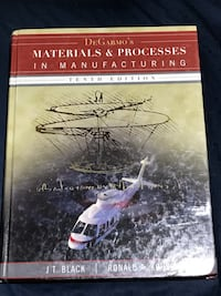 Materials & Processes in Manufacturing  Brant, N3T
