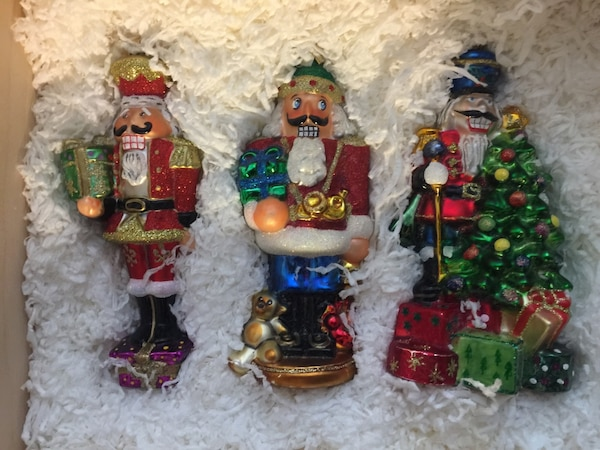 Highly collectible KOMOZJA MOSTOWSKI Glass Christmas Ornaments