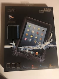 Black Lifeproof nuud cover for iPads 2,3, and 4 brand new Apollo, 15613