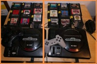 SEGA Genesis console with controller and games Montréal, H4B 2Z7