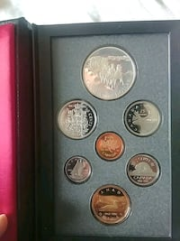 Assorted canadian coins Toronto, M8W 2T1