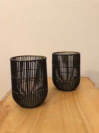 Wire Candle Holder (Set of 2)