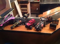 Huge lot of RC cars, including rare and vintage classics one from Tyco Nikko etc. Montréal, H2W 1X9