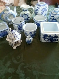 Blue and white ceramic collection  Woodbridge, 22191