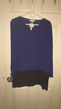 Blue and Black Tunic  New Westminster, V3L 5R7