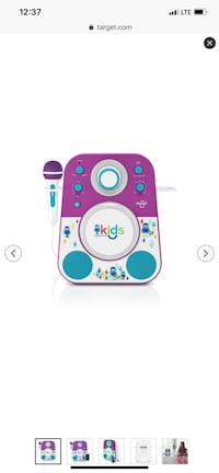 Pink and blue leap frog learning tablet El Paso, 79934