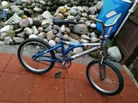 blue and gray BMX bike Indianapolis, 46201