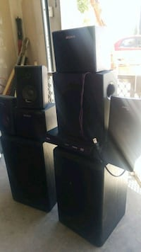 black SONY home theater system Las Vegas, 89129