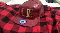 brown leather LK snapback Vaughan, L4H 3A2