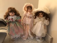 One female two girl dolls  Mc Lean, 22102