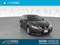 2017 *Nissan* *Altima* 2.5 S Sedan 4D sedan Brown Brentwood