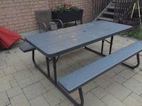Lifetime folding picnic table Vaughan, L4J 9C1