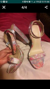 Almost new shoes high heels  Weslaco, 78596