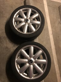 Rim tires mini cooper Surrey, V3T 4L8