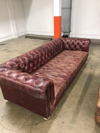 Restoration hardware couch and chair 2273 mi